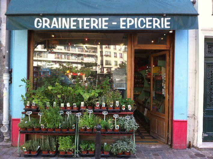 La Graineterie Du March Paris France
