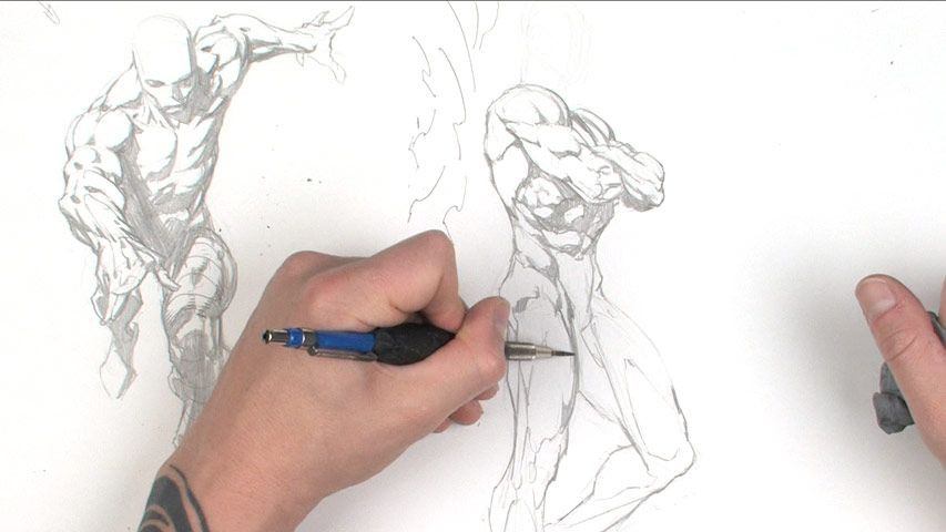 The Gnomon Workshop - Dynamic Figure Drawing: The Body | zbrush r7 ...