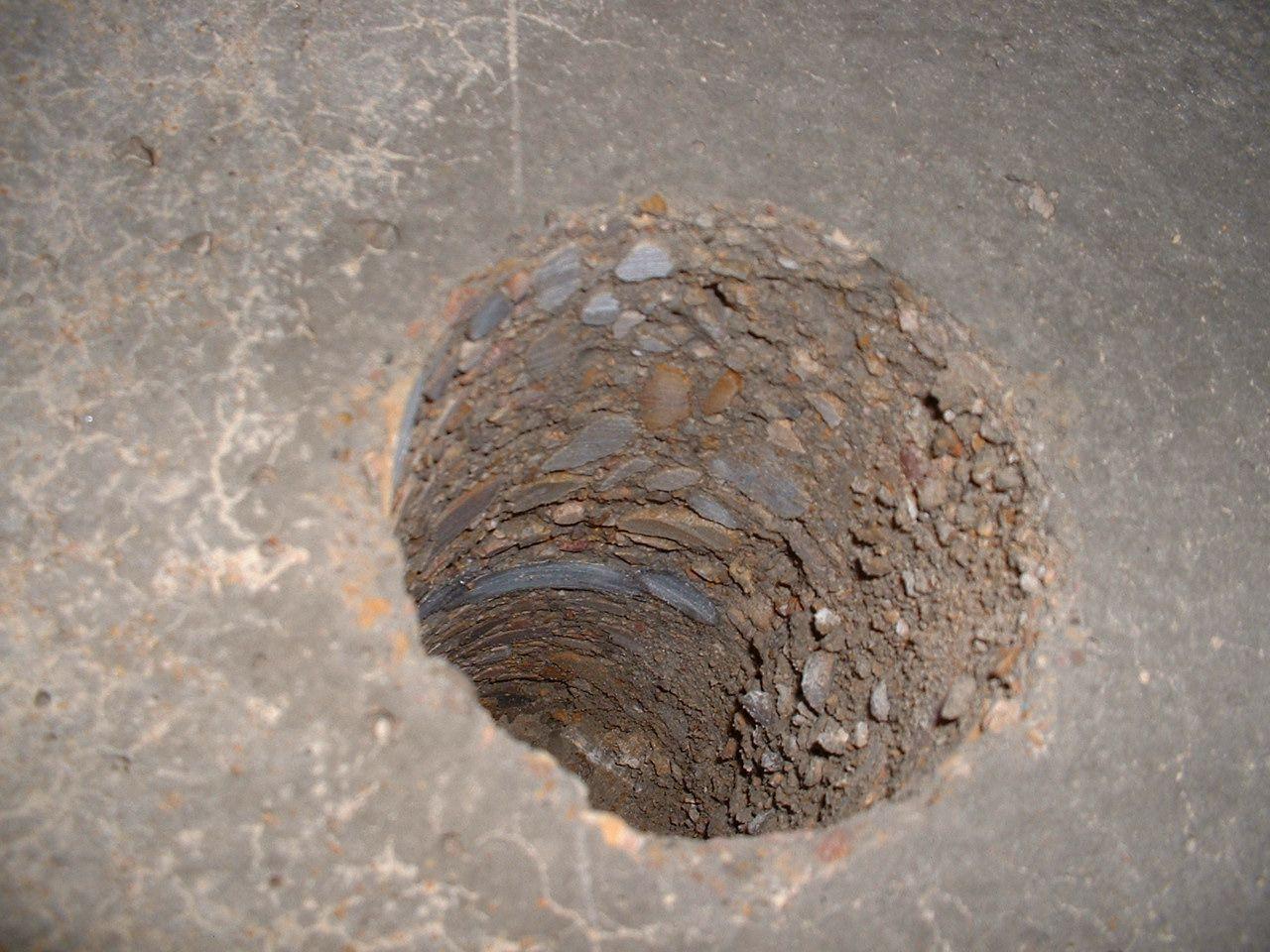 Extraccion De Testigo De Hormigon Diam 100 Mm Hormigon