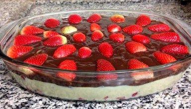 Sobremesa Divina – Morango com Chocolate!
