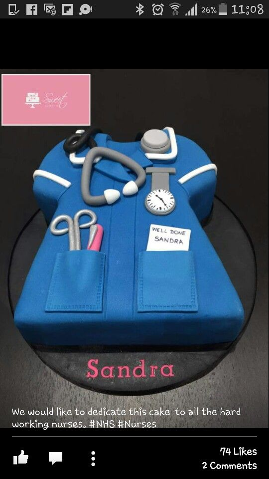 Great For A Nursemidwife Food Pinterest Cake Nurse Cakes And