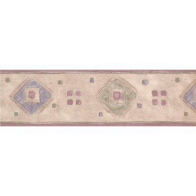 Chesapeake Wallcoverings Geometric Design 15' L x 6'' W