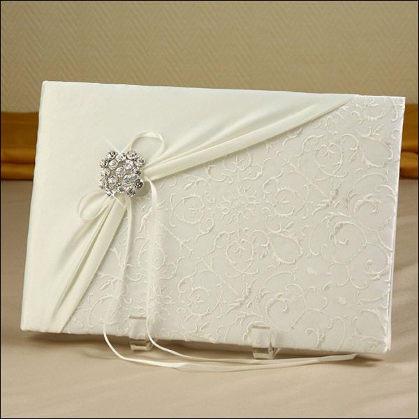 Guest Book - Glamour Brooch - Ivory