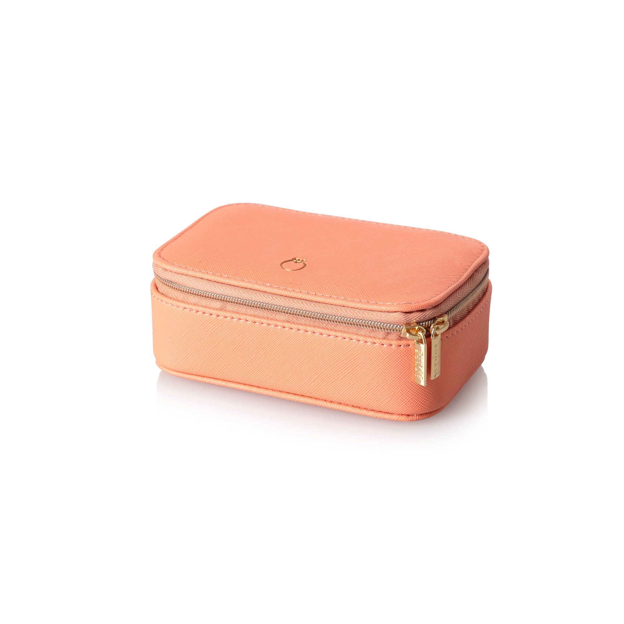 buy the amelia small coral travel jewellery box at oliver. Black Bedroom Furniture Sets. Home Design Ideas