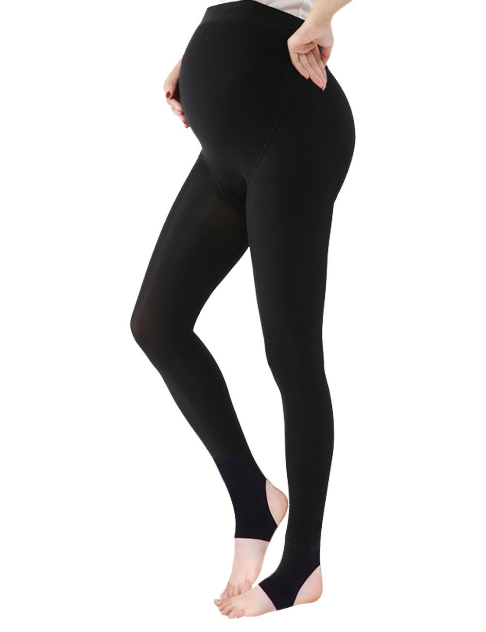 8b9525aa3cb37 Maternity Styles - smart maternity leggings : Womens Maternity Pregnancy  Tights Opaque Warm Thermal Brushed Fleece Lined Adjustable Support Footless  Legging ...