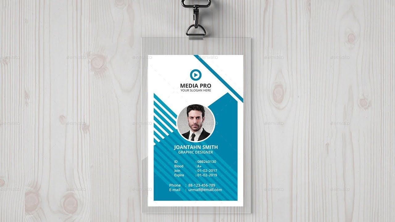 How To Design Company ID Card