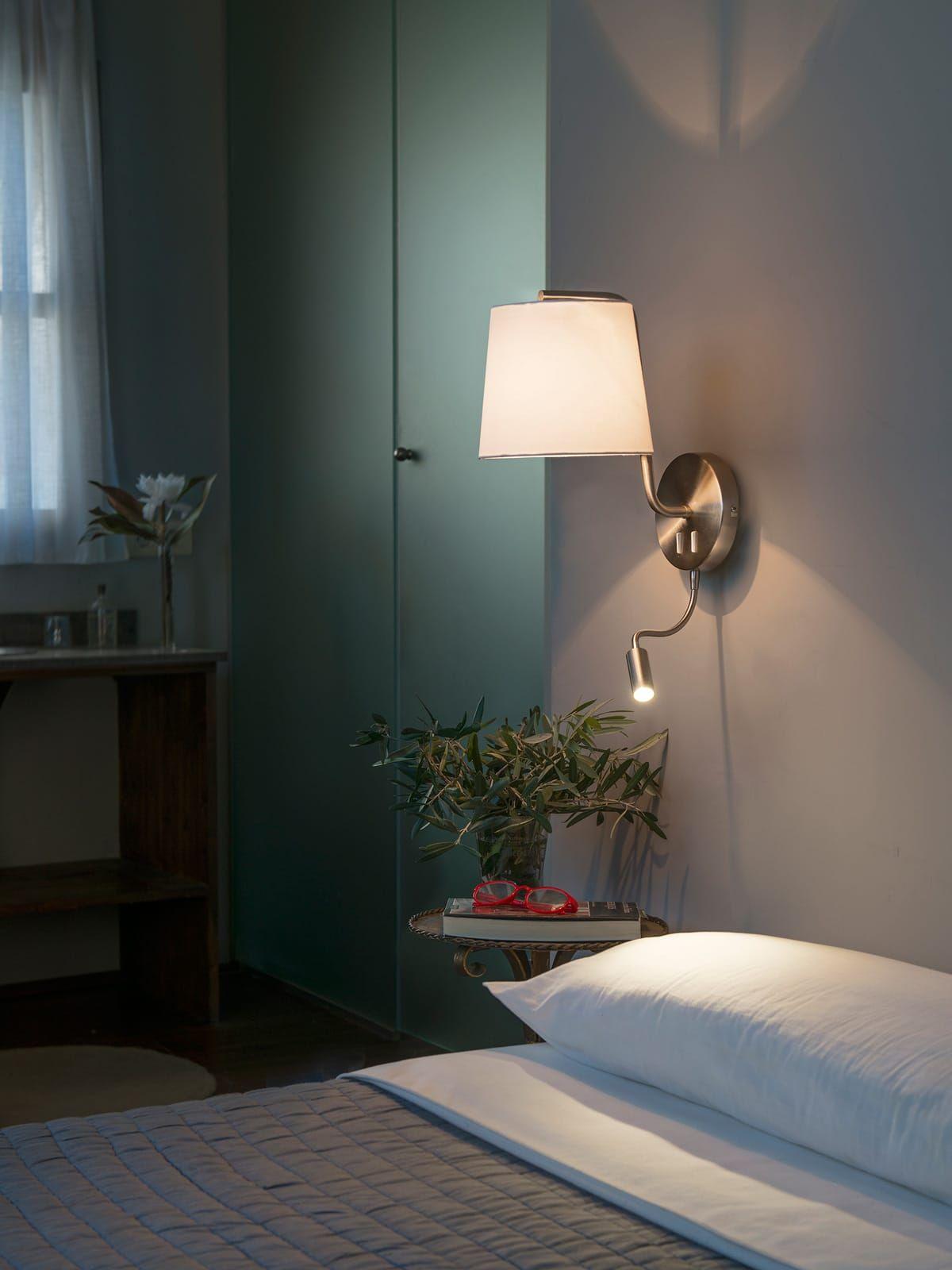 22 Schlafzimmer wandleuchte mit leselampe