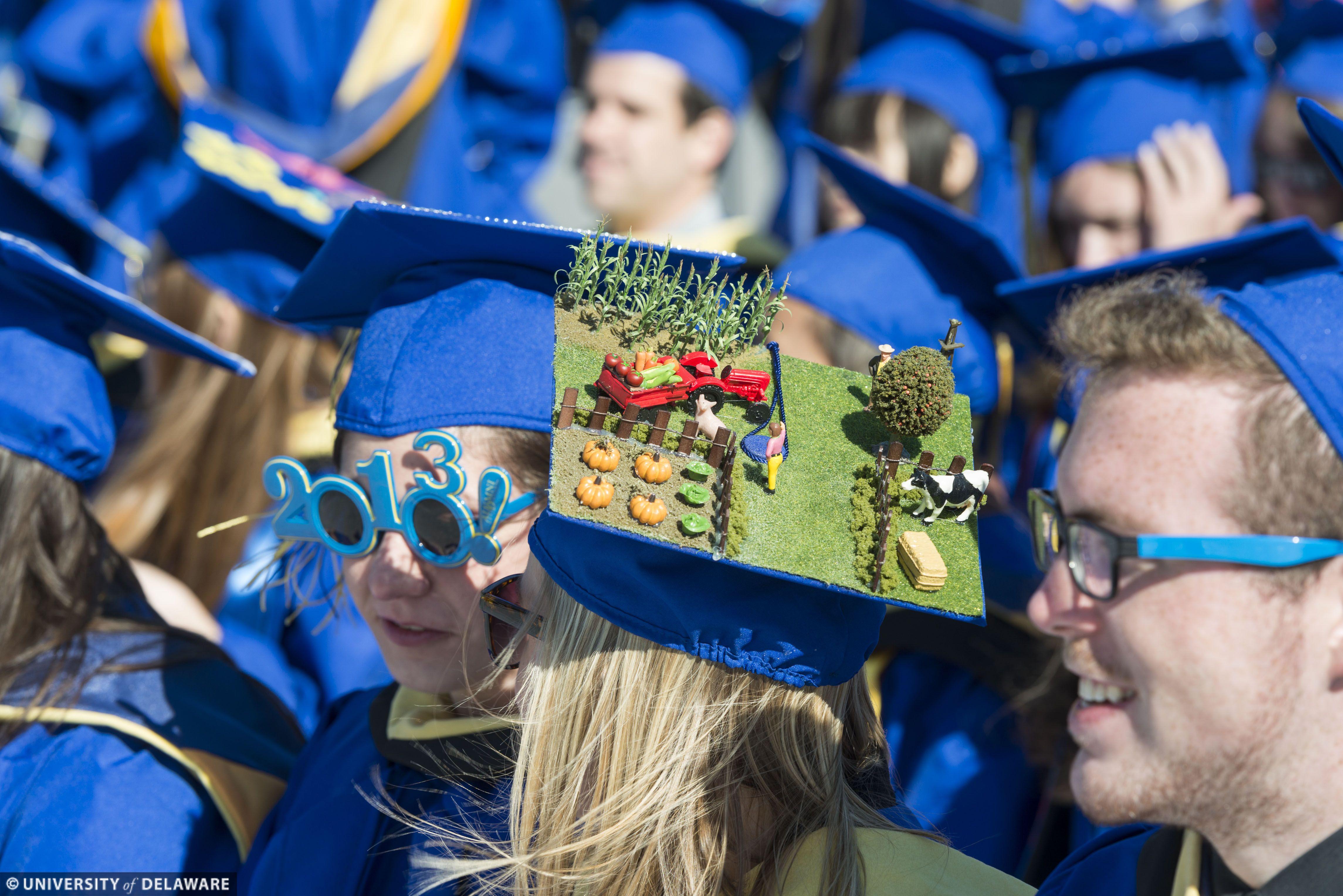 Csusm Graduation 2020.Catch A Wisp Of Farmville In This Grad Cap Design