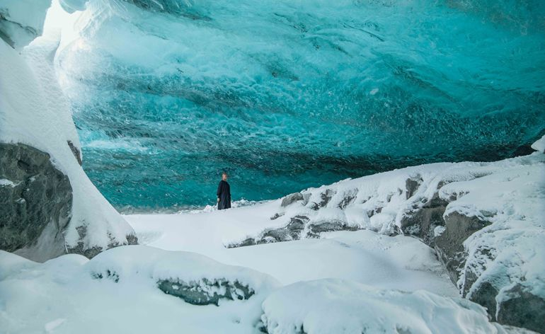 Ice or diamonds? Isaac Julien presents his glacial film in