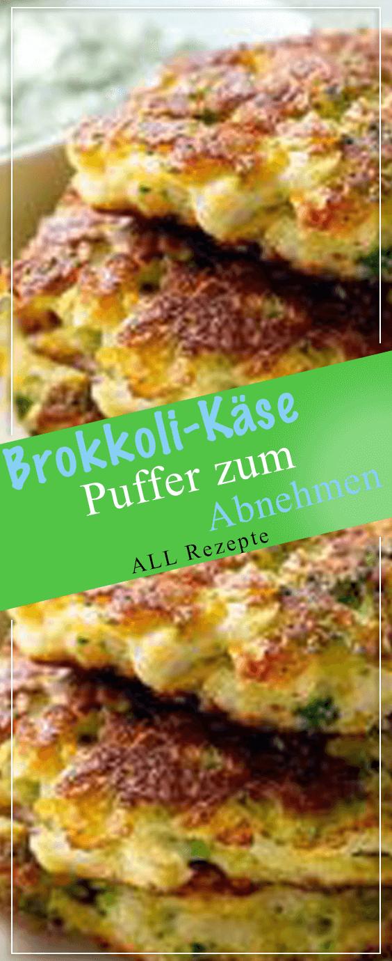 Brokkoli-Käse-Puffer zum Abnehmen.#Kochen #Rezepte #einfach #köstlich #pescatarianrecipes