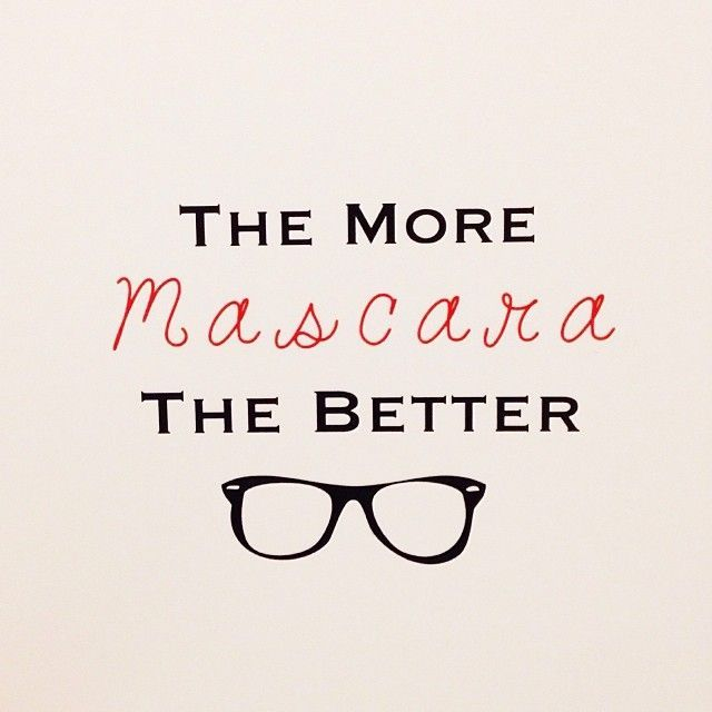 Mascara Quotes Prepossessing The More Mascara The Better Www.youniqueproducts.via