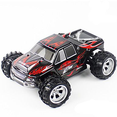 Buggy WLToys A979 1:18 Brush Electric RC Car 50KM/H 2.4G Blue / Black Ready-To-GoRemote Control Car / Remote Controller/Transmitter / #offroad #hobbies #design #racing #drift #motors #trucks #tech #rc #rccars