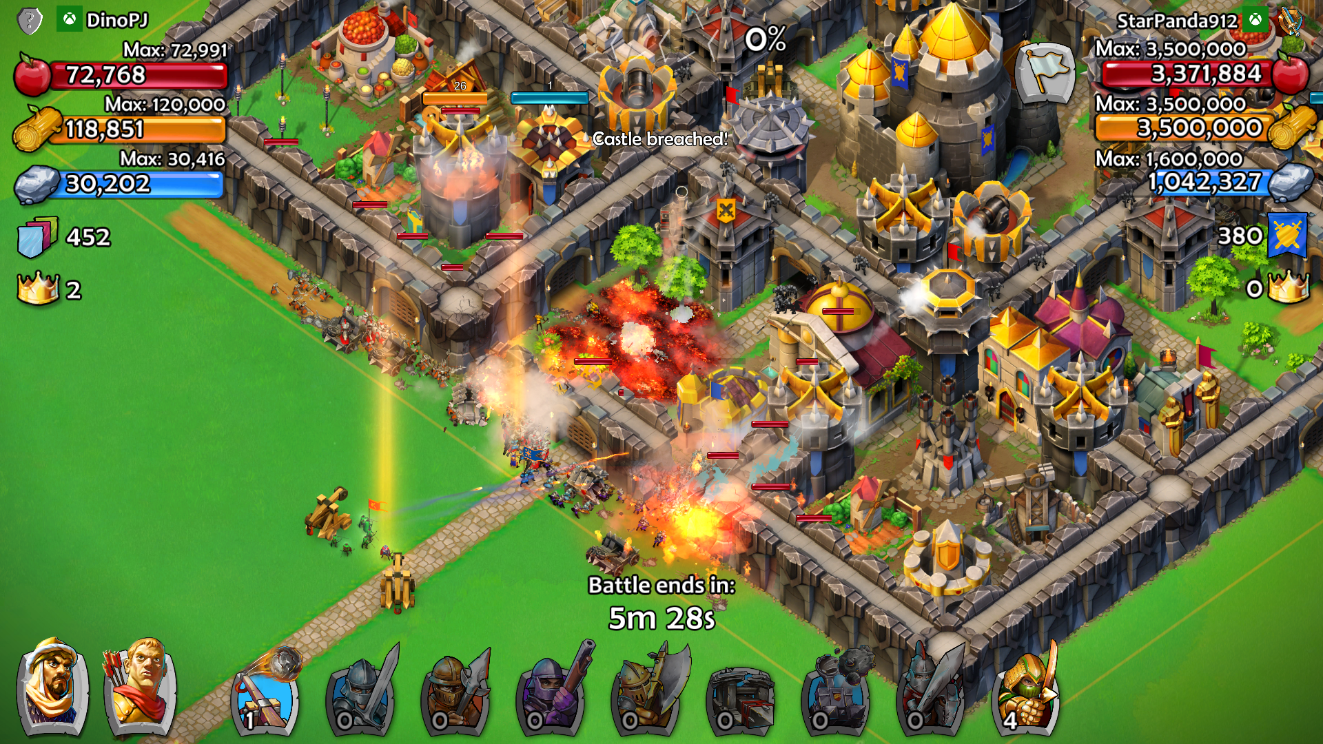 لعبة Age of Empires : Castle Siege