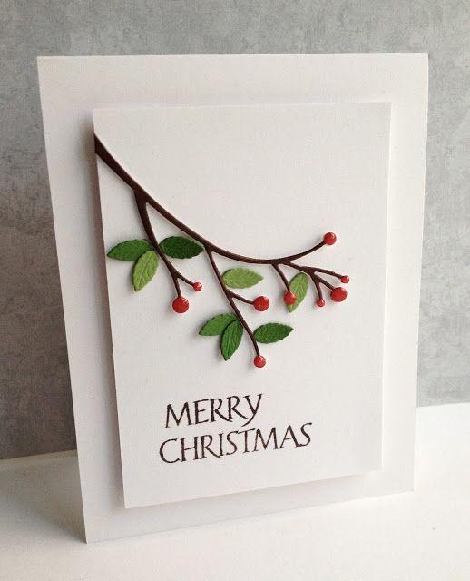 Winterberry Sprig (Iu0027m in Haven) Tarjetas, Navidad y Invitaciones