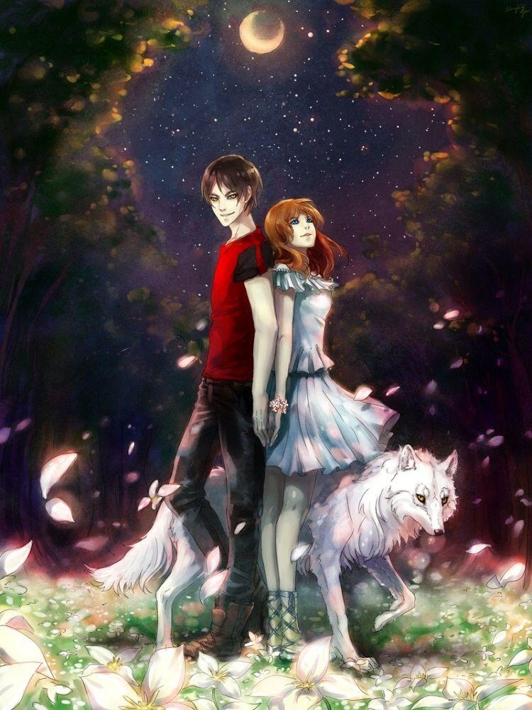 Vampire Meets His Human Love Art Anime Animation Art