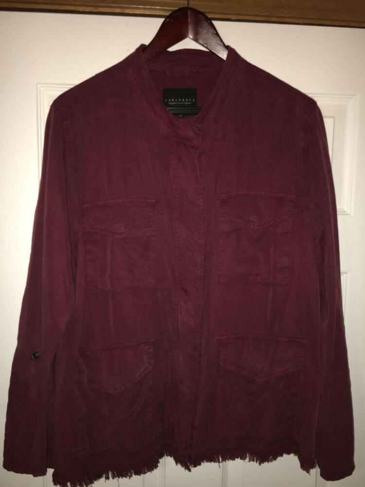 Sanctuary Clothing Roy Frayed Surplus Jacket - Kenya