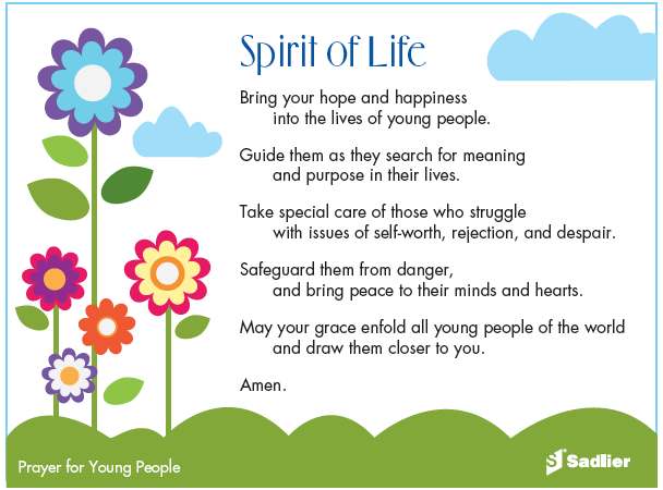 Prayer for young adults