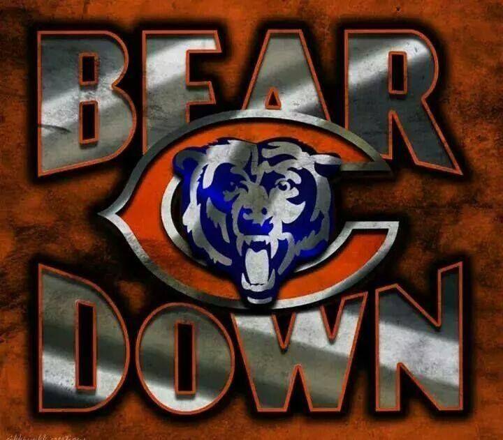 Bear Down Chicago Bears Wallpaper Chicago Bears Logo Chicago Bears Football