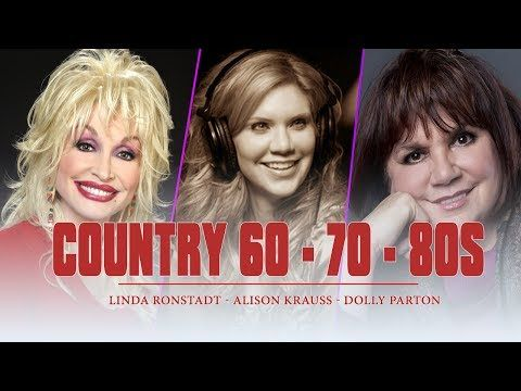 Best Female Country Songs 60s,70s,80s♪ღ♫Greatest Old