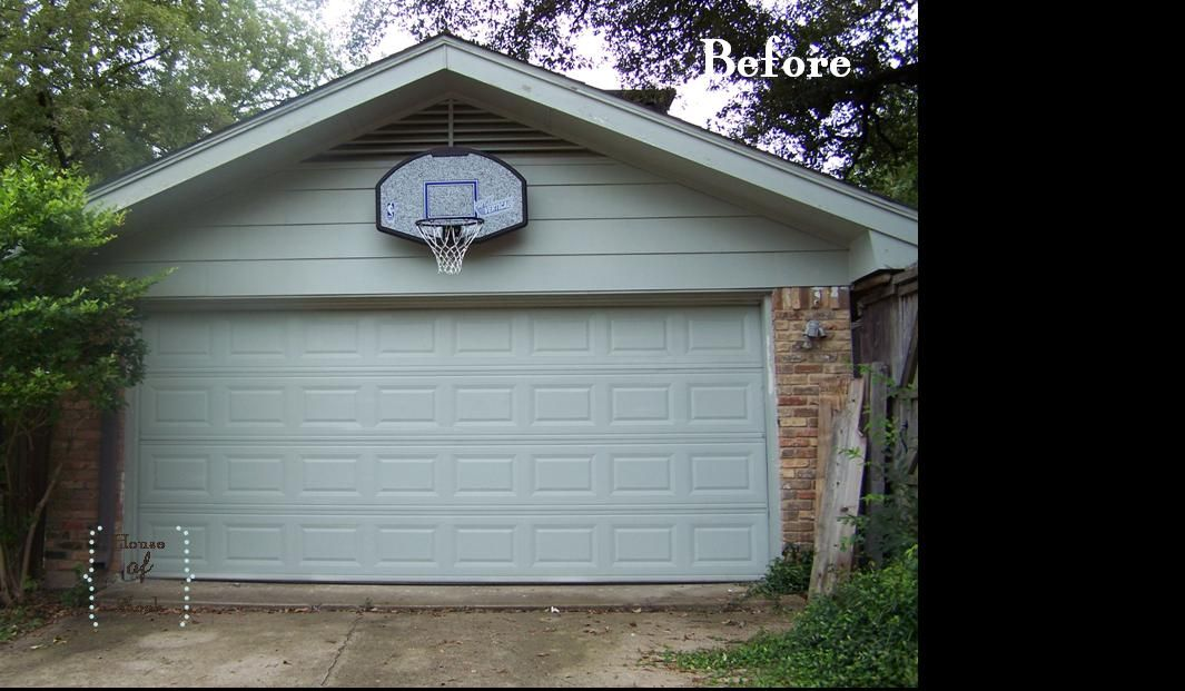 The garage must have a basketball hoop mounted on it but for Basketball garage
