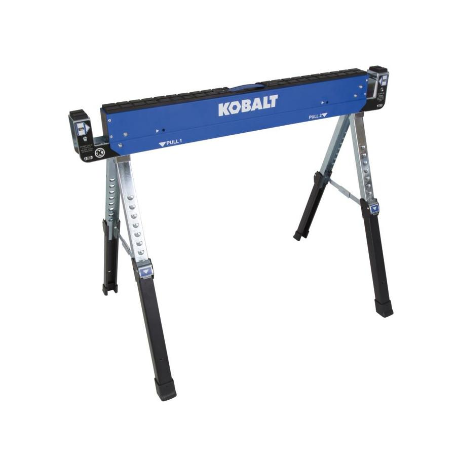 Kobalt 42in W x 32in H Adjustable Steel Adjustable Saw