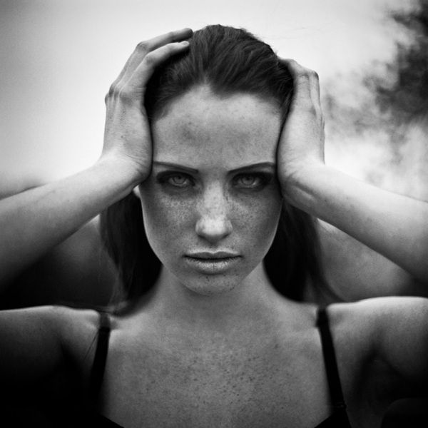 Aleksandra zaborowska and her beautiful black and white portraits creative boom blog art design creativity