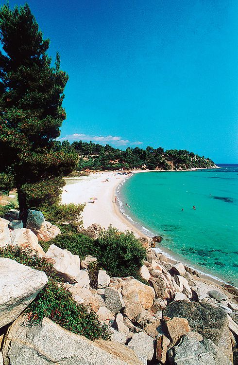 Koviou Beach, Sithonia, Halkidiki,Greece