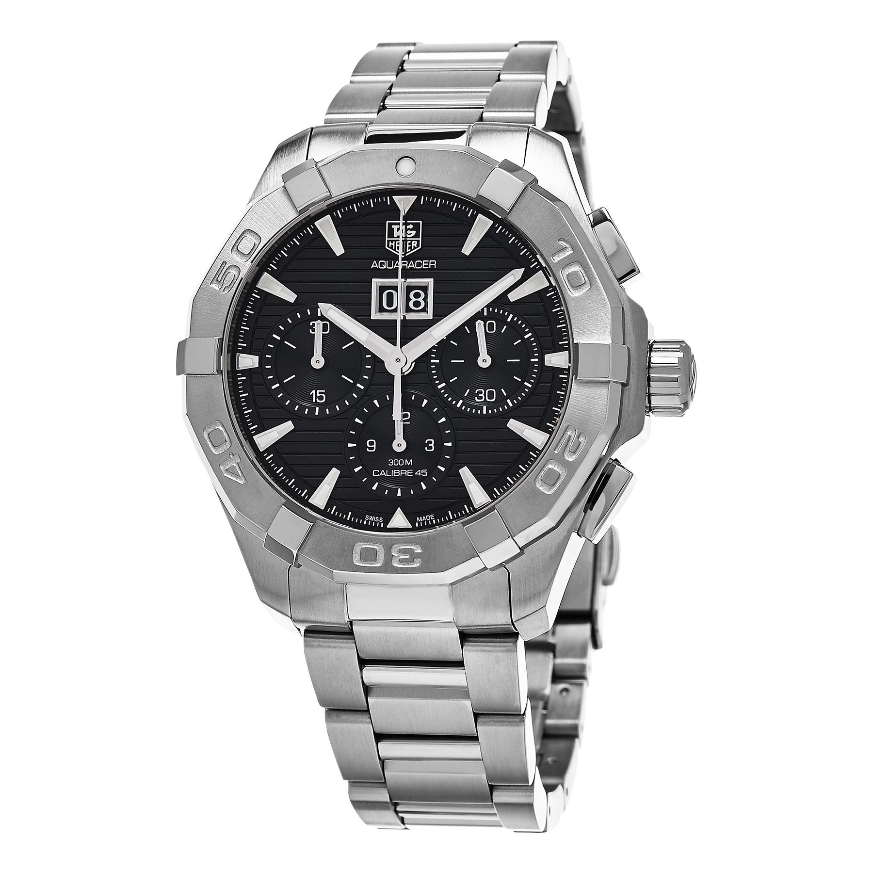 Tag Heuer Men's CAY211Z.BA0926 '300 Aquaracer' Dial Chronograph Swiss Automatic Watch