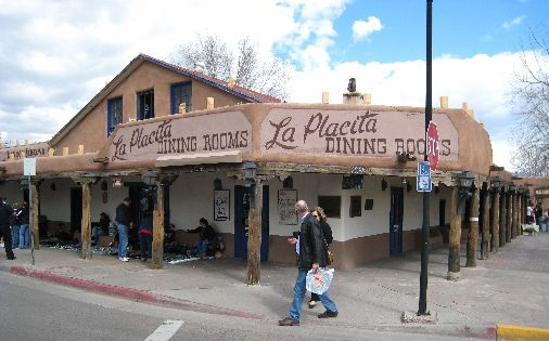 Old Town Albuquerque La Placita Restaurant Delicious Mexican Food