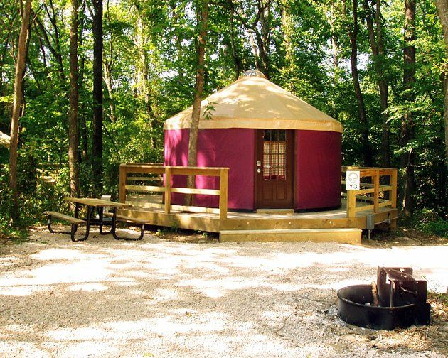 [Stayed there!!! (and loved it)] Catherine's Landing in Hot Springs, AR-- Yurts available to rent