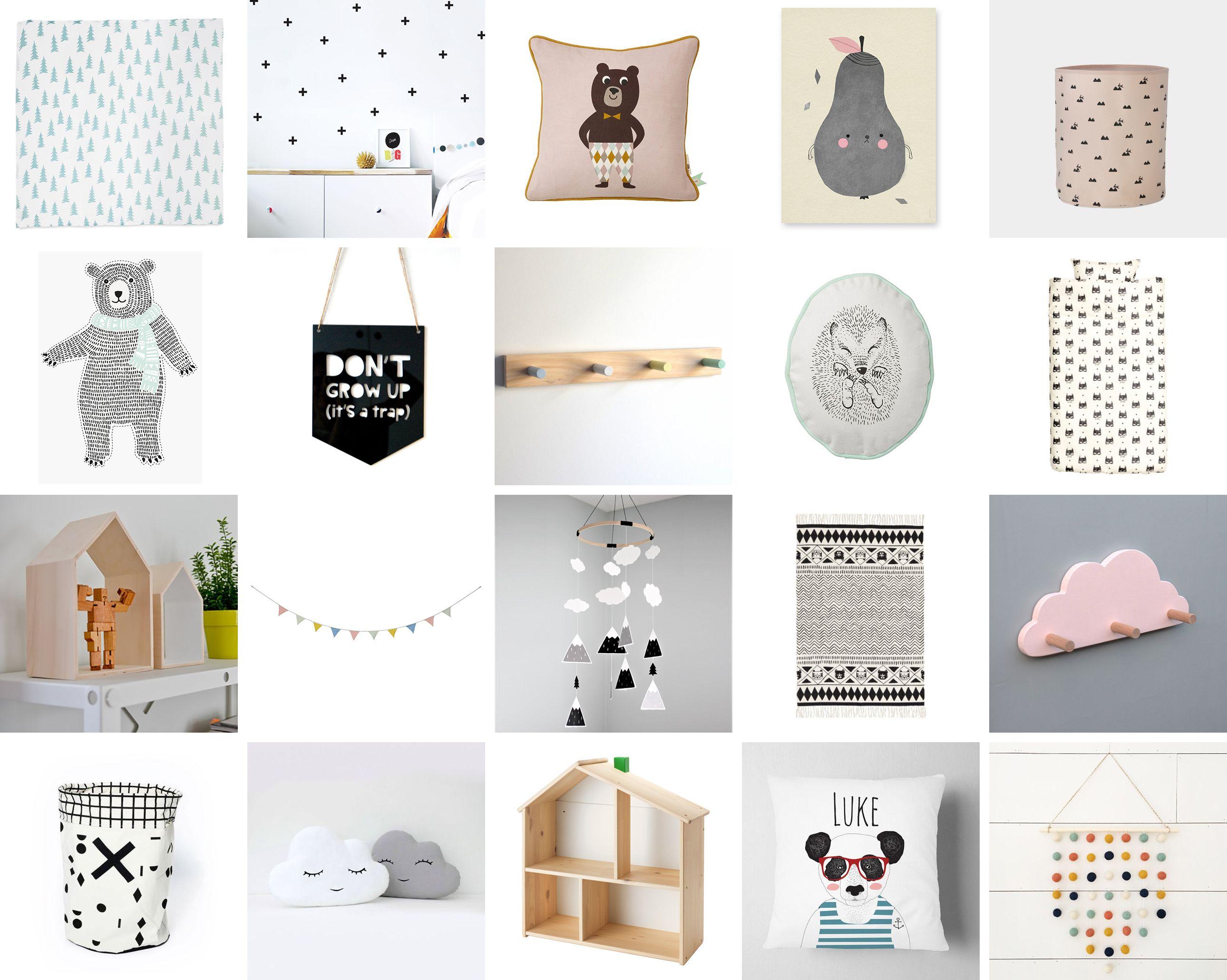 favorite scandinavian kids decor items under 35 happy grey lucky rh pinterest com Interior Design Room Bedroom Decoration Items