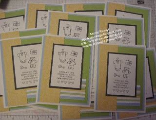 Stampin' Up! Demonstrator, Mandy Reedyk, Peterborough, Ontario, Canada: Card Class Samples 2012