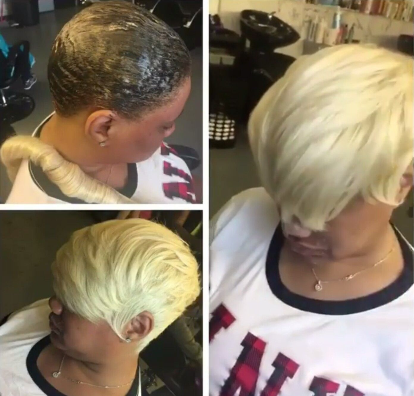Short Blonde Baby Quick Weaves In 2019 Quick Weave