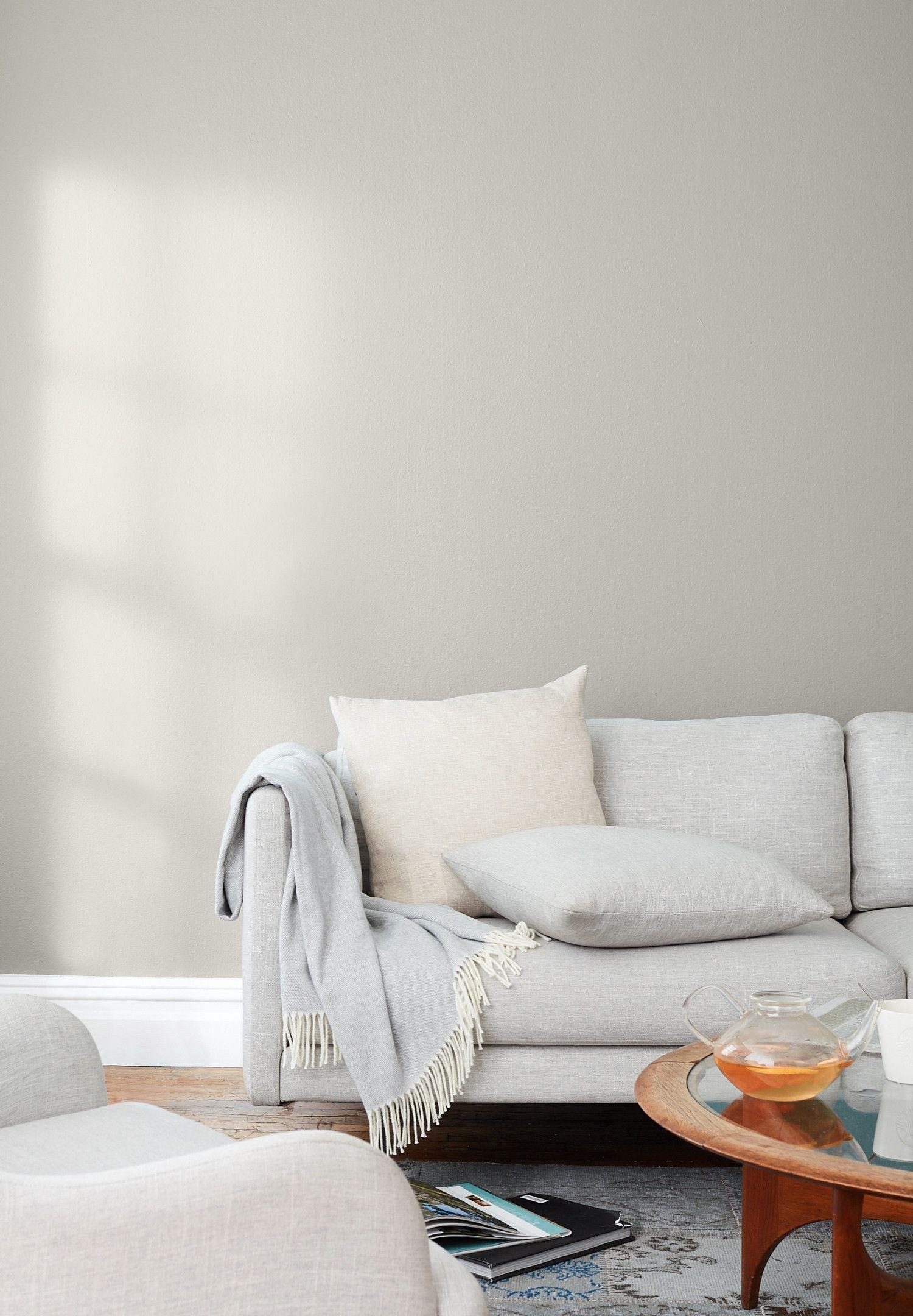 Windy City A Warm Light Gray Paint Color Clare Grey Paint Living Room Living Room Paint Living Room Designs