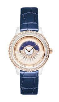 Dior_Grand Bal watch_38mm CanCan ceramic rose gold diamonds and Navy Blue strap.jpg