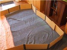klappgehege f r meerschweinchen d i y meerschweinchen. Black Bedroom Furniture Sets. Home Design Ideas