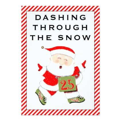 Runners Christmas cards - christmas cards merry xmas family party