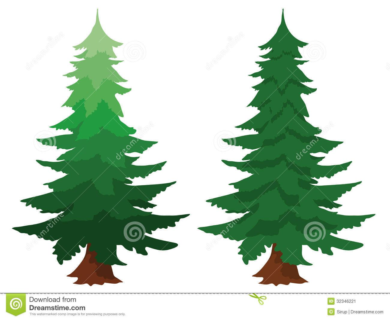 forest frame pine tree wilderness fotosearch search clipart free  [ 1300 x 1065 Pixel ]