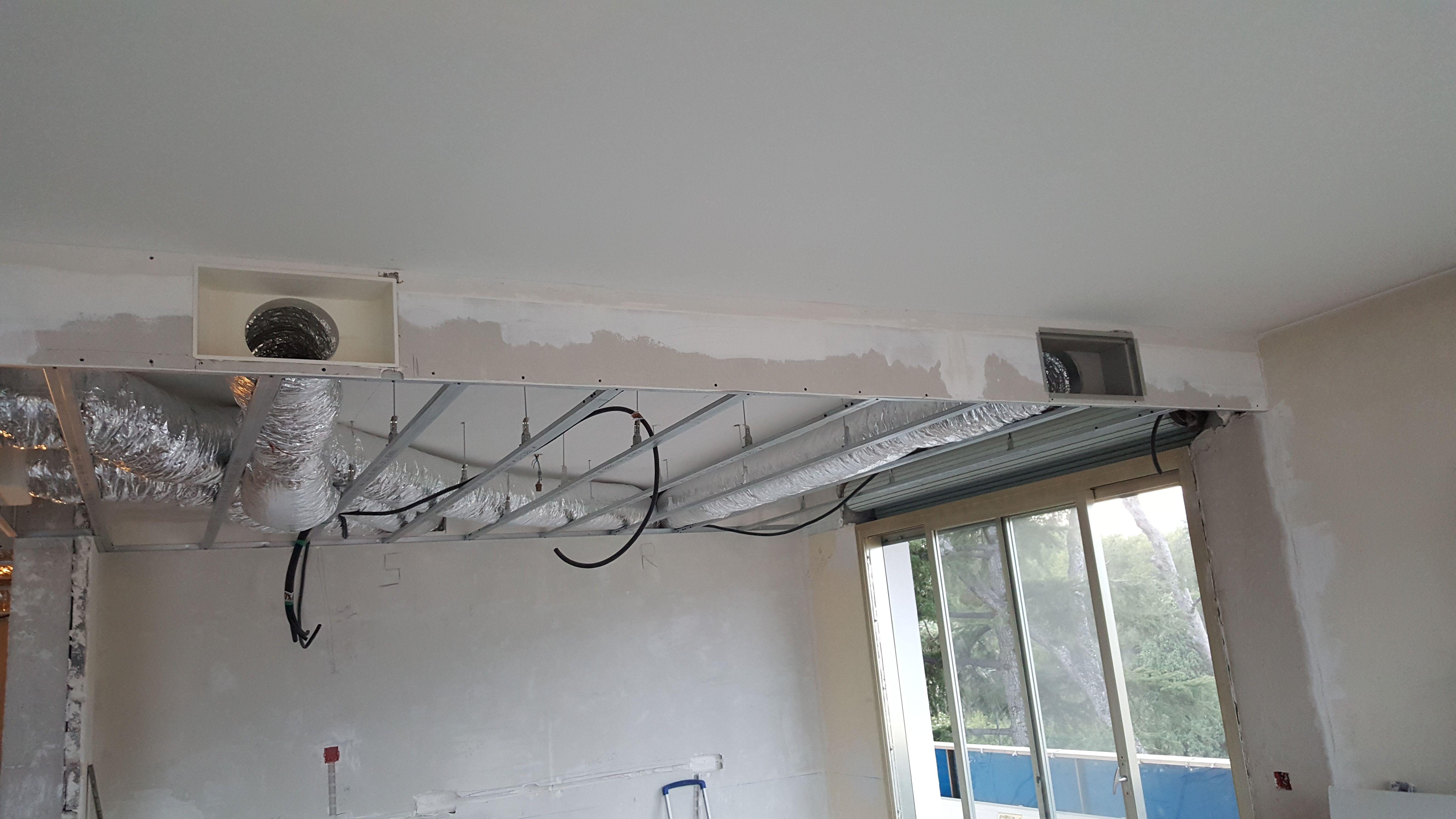 Installation gainable climatisation — photo 1