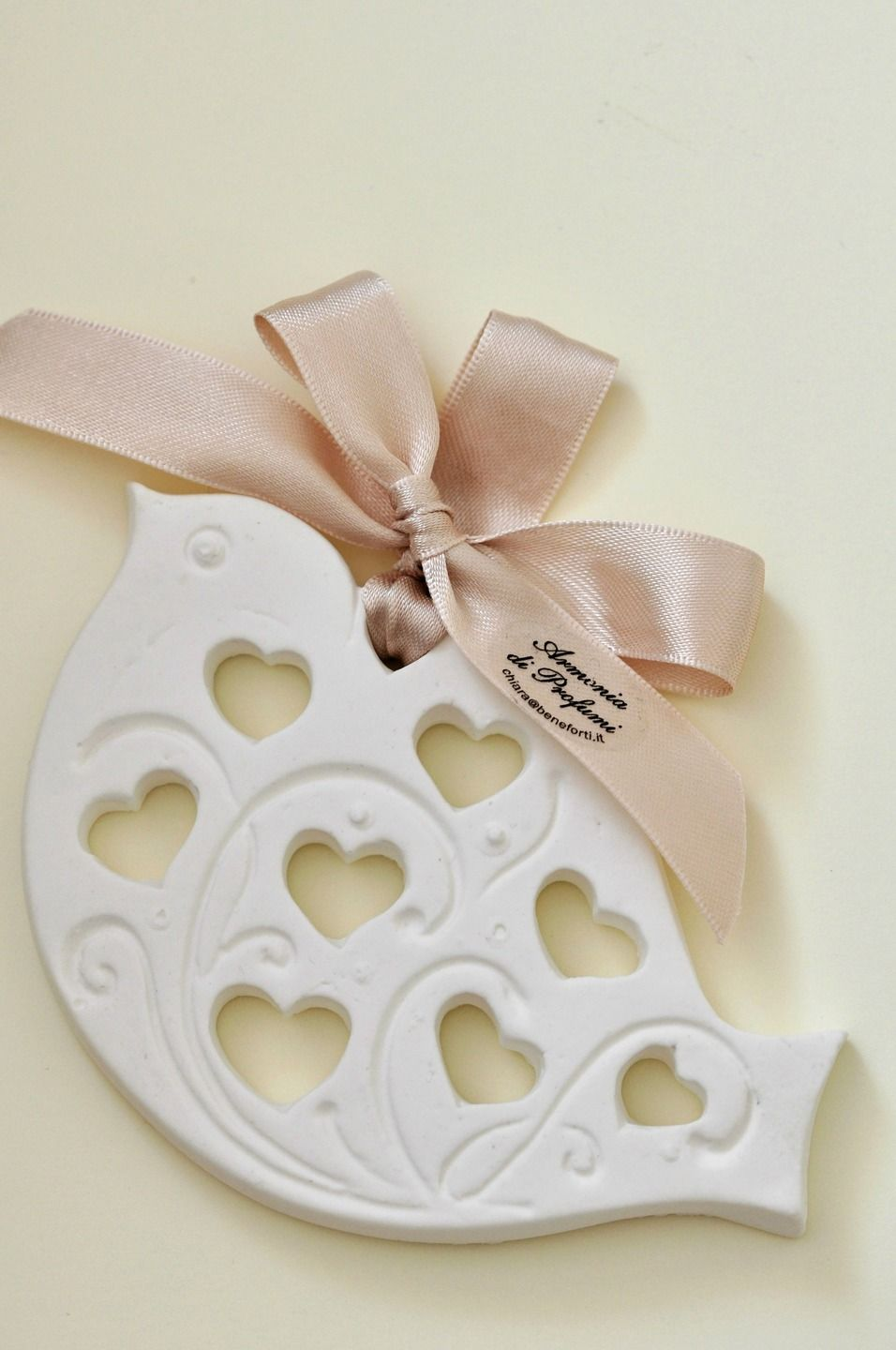 Scented chalks placeholder marriage - shabby little bird | Ceramica ...
