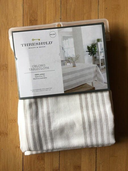 DIY No Sew Curtains from a Tablecloth! | The Savvy Sparrow