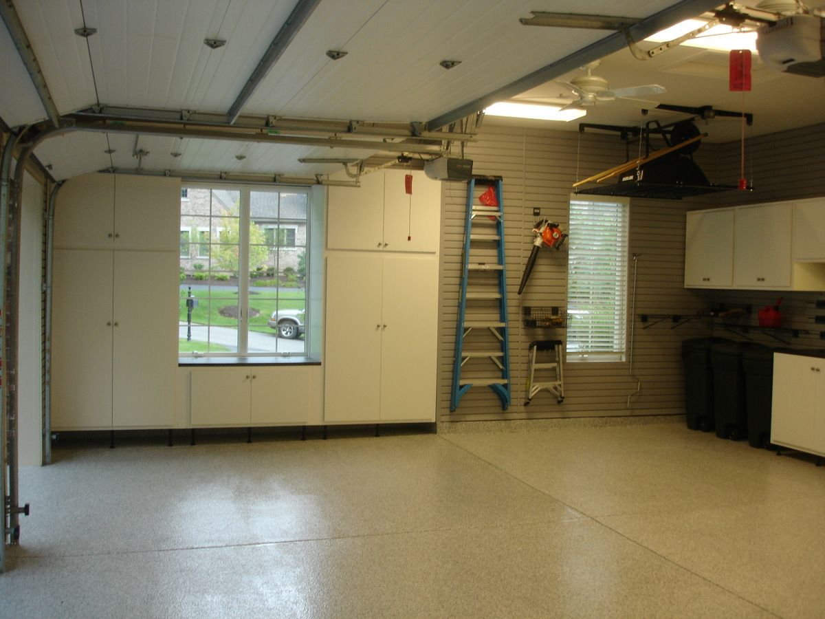 Upgrade the look of your garage with a decorative epoxy