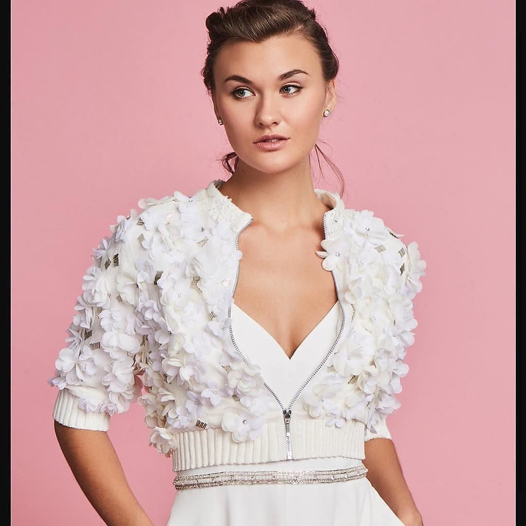 Over on the blog we\'re taking a look at bridal jackets with ...