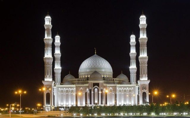 30 Most Beautiful Mosques around the World. Nur Astana Mosque Astana Kazakhstan