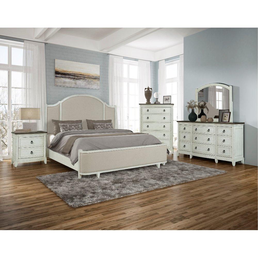 Country White 4 Piece Queen Bedroom Set Chapel Hill King Bedroom Sets King Size Bedroom Furniture Queen Bedroom