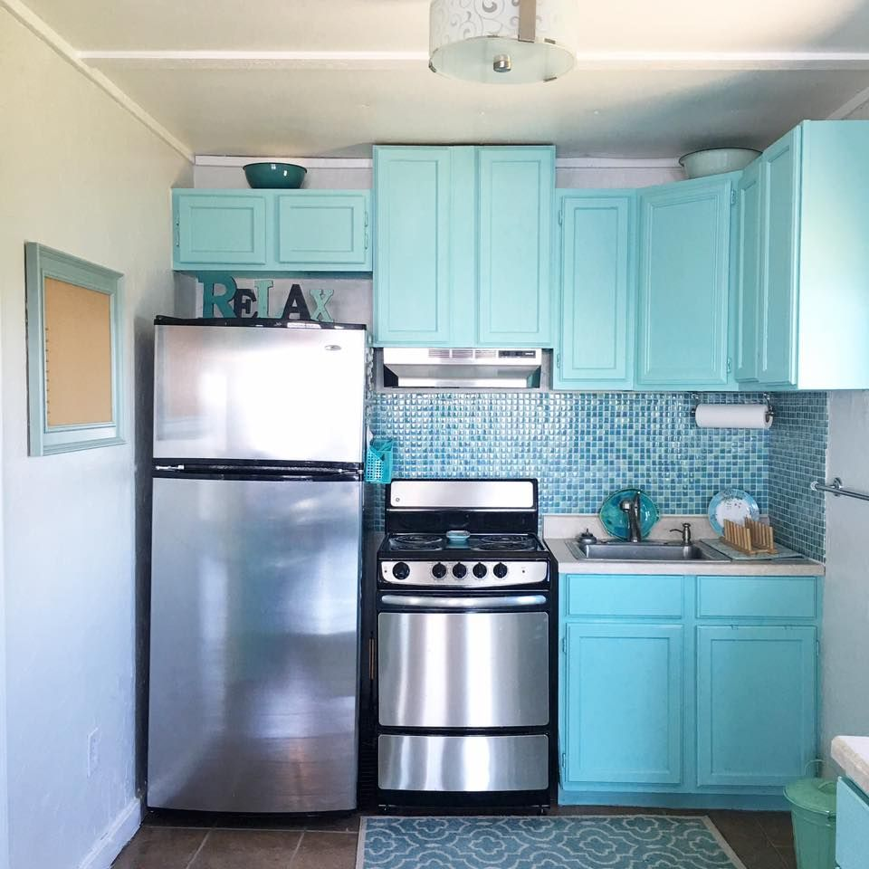 My DREAM kitchen! Color is Behr Jamaica Bay | All things BEACH ...