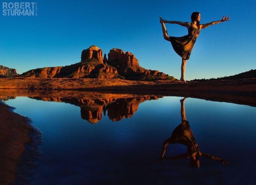 Yoga In Photos: A Roadtrip Through The Enchanting American ...
