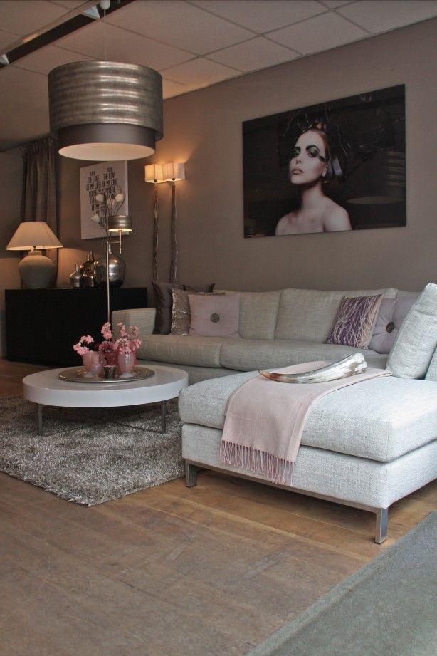 Woonkamer in sfeervolle tinten | Ideeën voor het huis | Pinterest ...