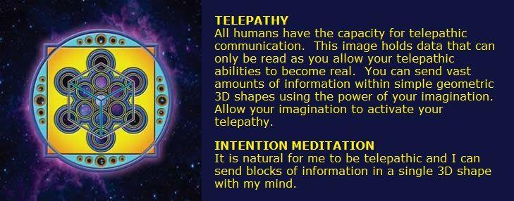 Arcturian geometry telepathy geometric symbols sacred