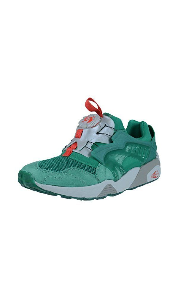 119.99$ - Puma Men s Disc X Trinomic X Alife- Ultramarine/High/Rise/Flame Scarlet- 10.5 M US from PUMA- Mesh trimmed sneaker features an adjustable disc closure- shock absorbent construction- non-slip sole
